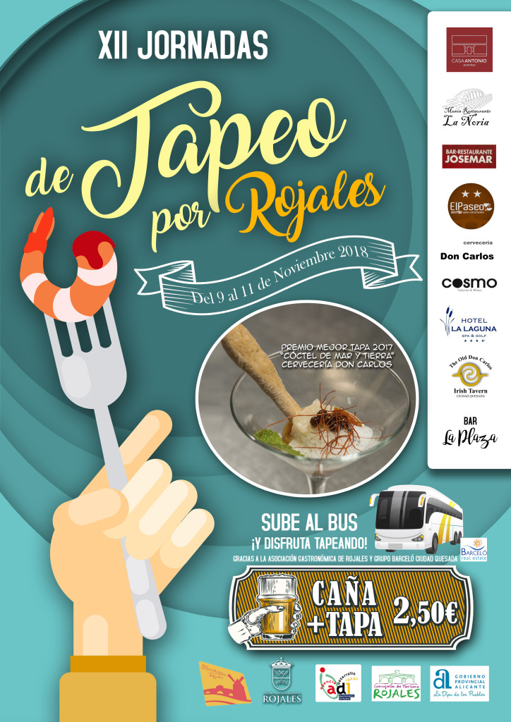 cartel tapeo