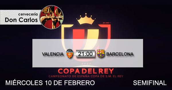 Copa de rey miercoles 10
